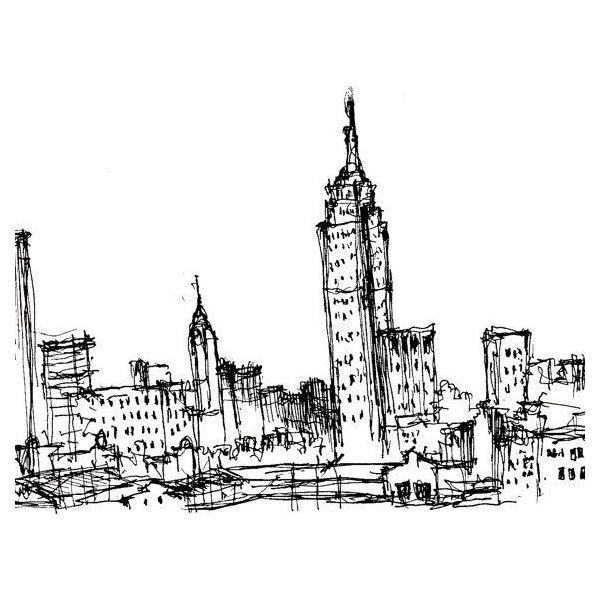 King Kong Empire State Building Drawing