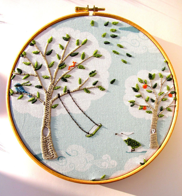Pin by Sarah Nouh on Embroidery | Bordado, Bordado a mano, Costura
