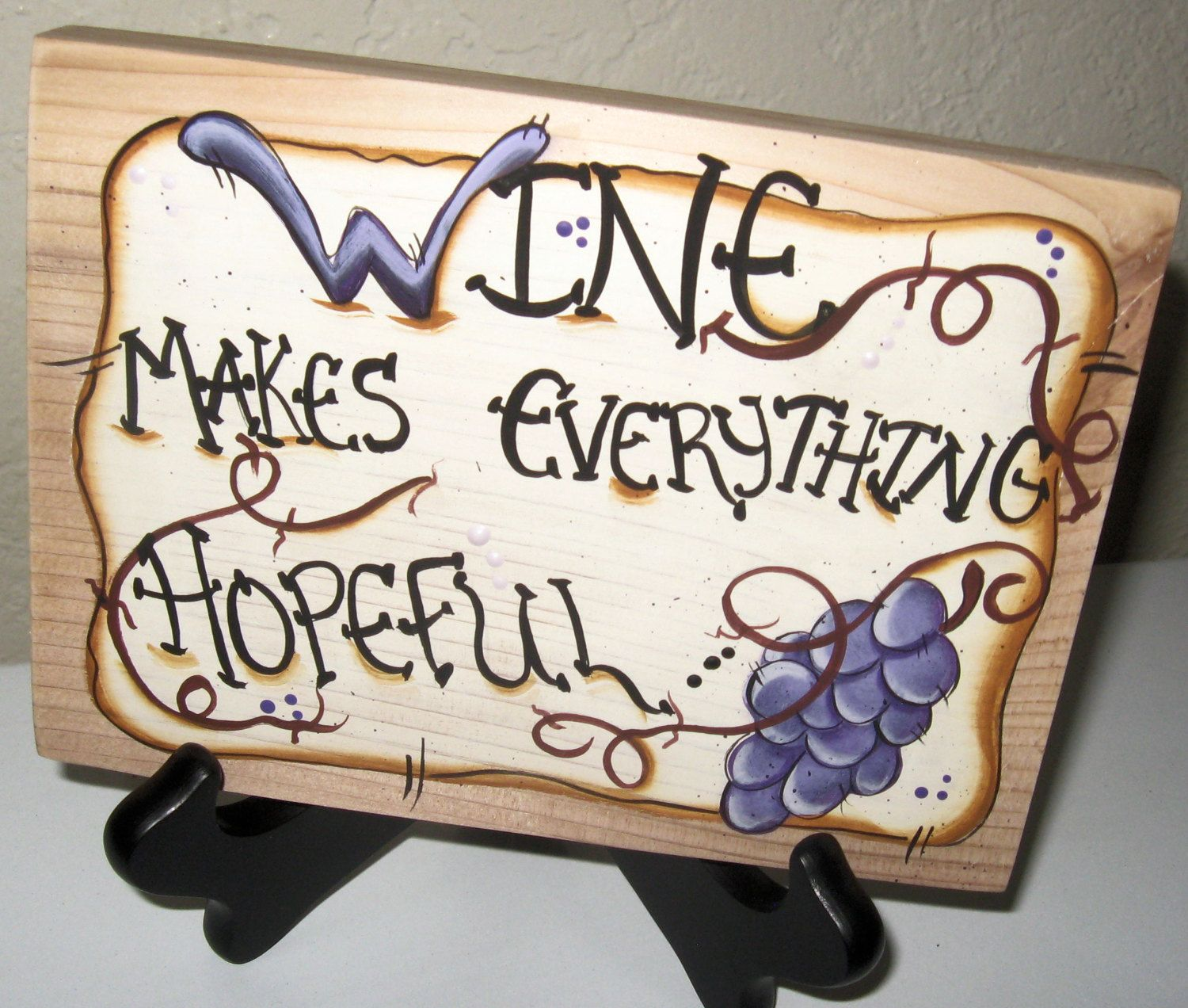 Wine Signs Decor Custom Quirky Wood Signswine Signswine Decorcountry Wine Decorwine Decorating Design