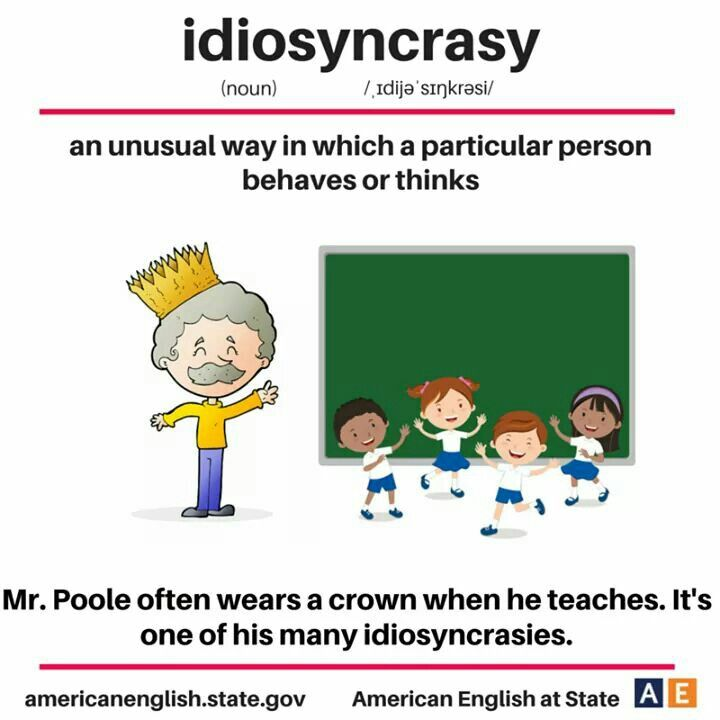 Idiosyncratic Examples: Learn English, English Language Learning