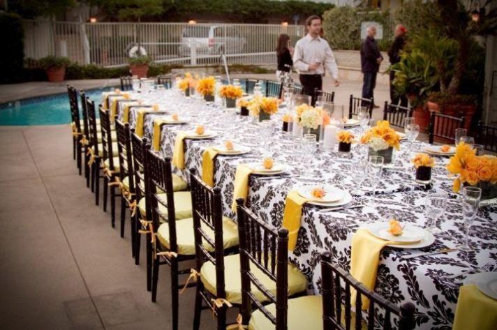 Unique wedding reception ideas outdoor wedding by the for Unique wedding decoration ideas for reception
