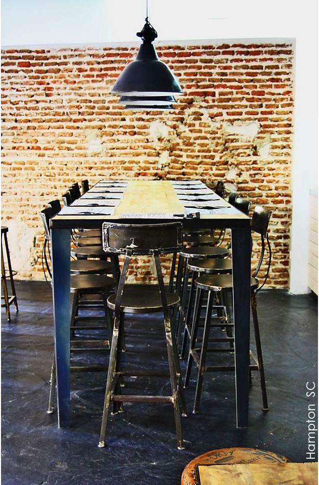 Industrial Vintage Decor-for my restraunt one day!