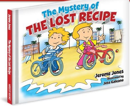 The Mystery of the Lost Recipe that promotes wellness to kids with a beautiful story too. -