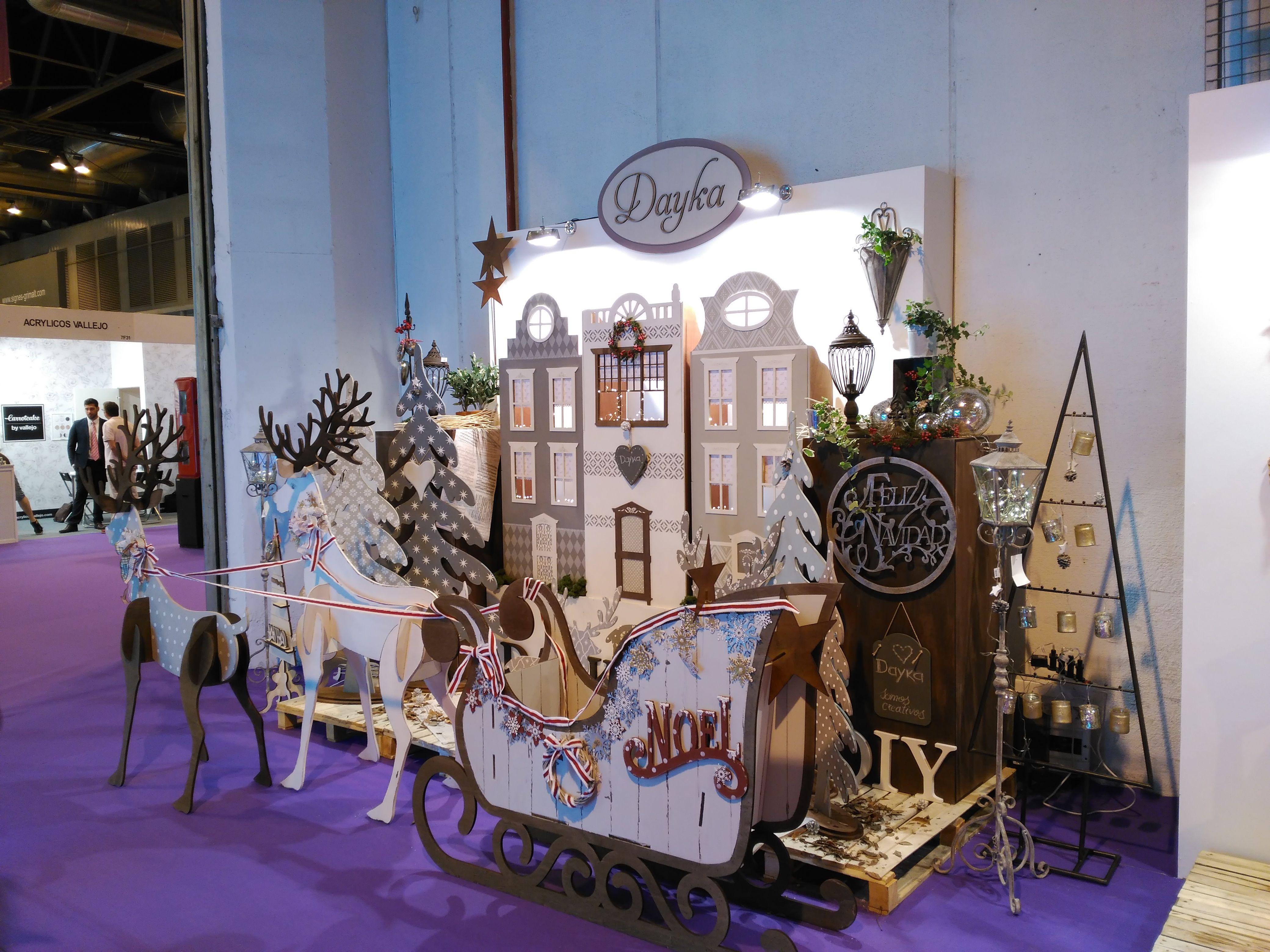Expo_dayka_ Manualidades Crafts Pinterest Creativa Madrid  # Muebles Dayka Trade