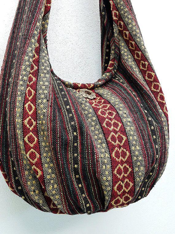 Handmade Woven Bag Handbags Purse Tote Thai Cotton Bag Hippie bag ...