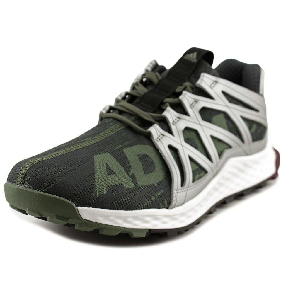 Black d adidas Performance Mens Vigor Bounce M Trail Runner Base Green  Black White
