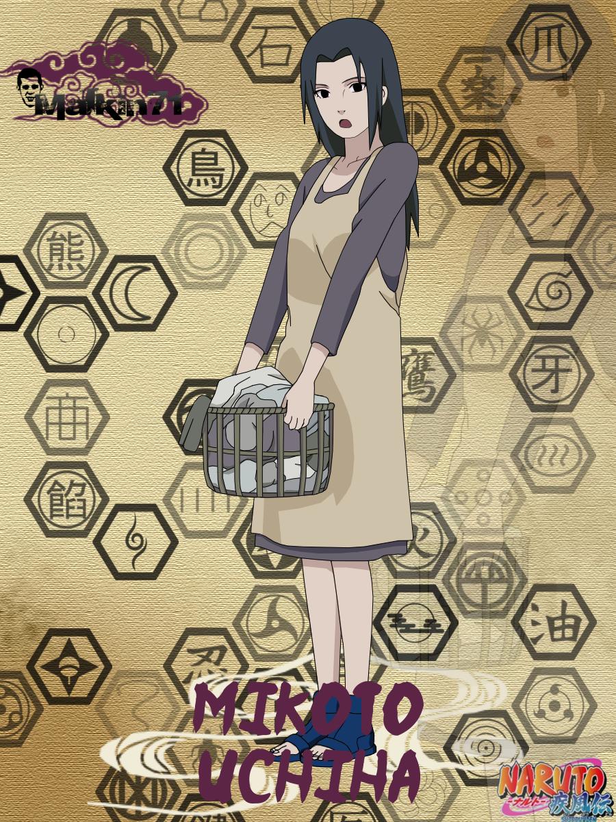 Mikoto from Naruto anime