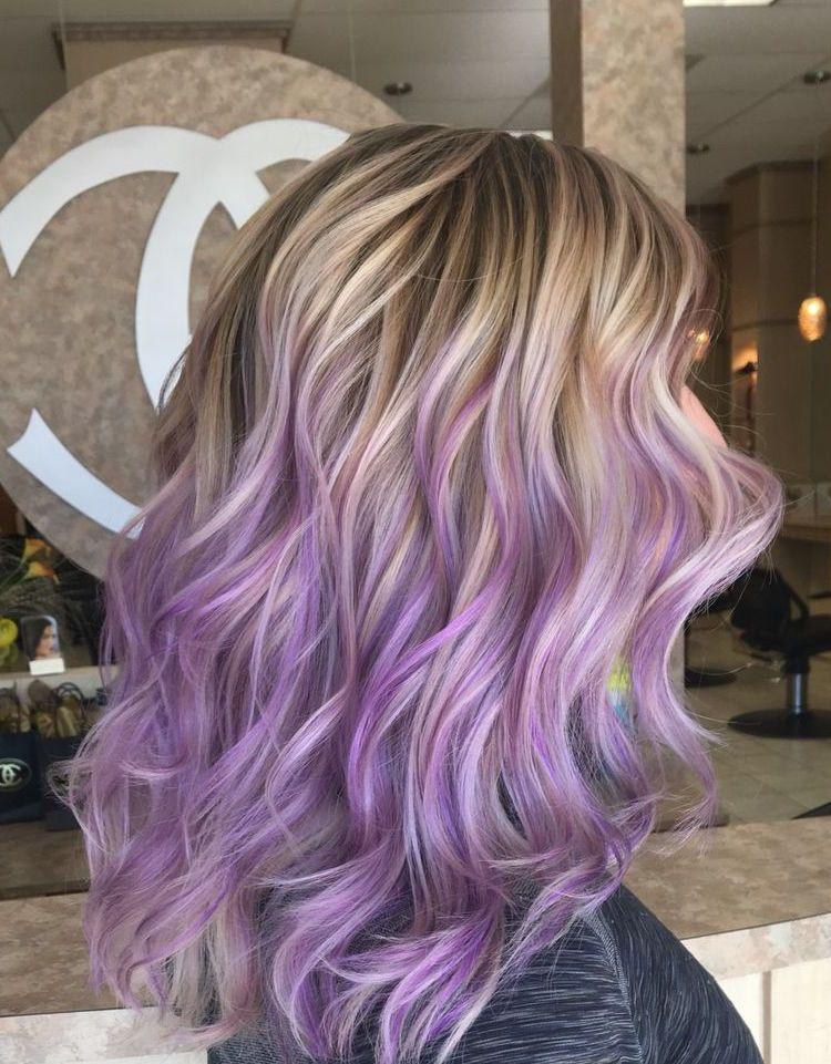 Coloration intГ©ressante pour les blondes