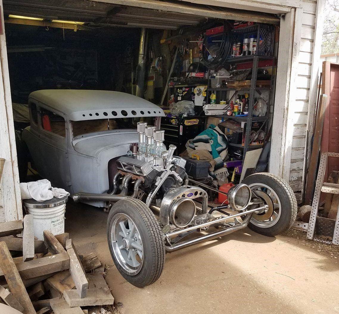 Rat Rod, Car Shop, Derby Cars