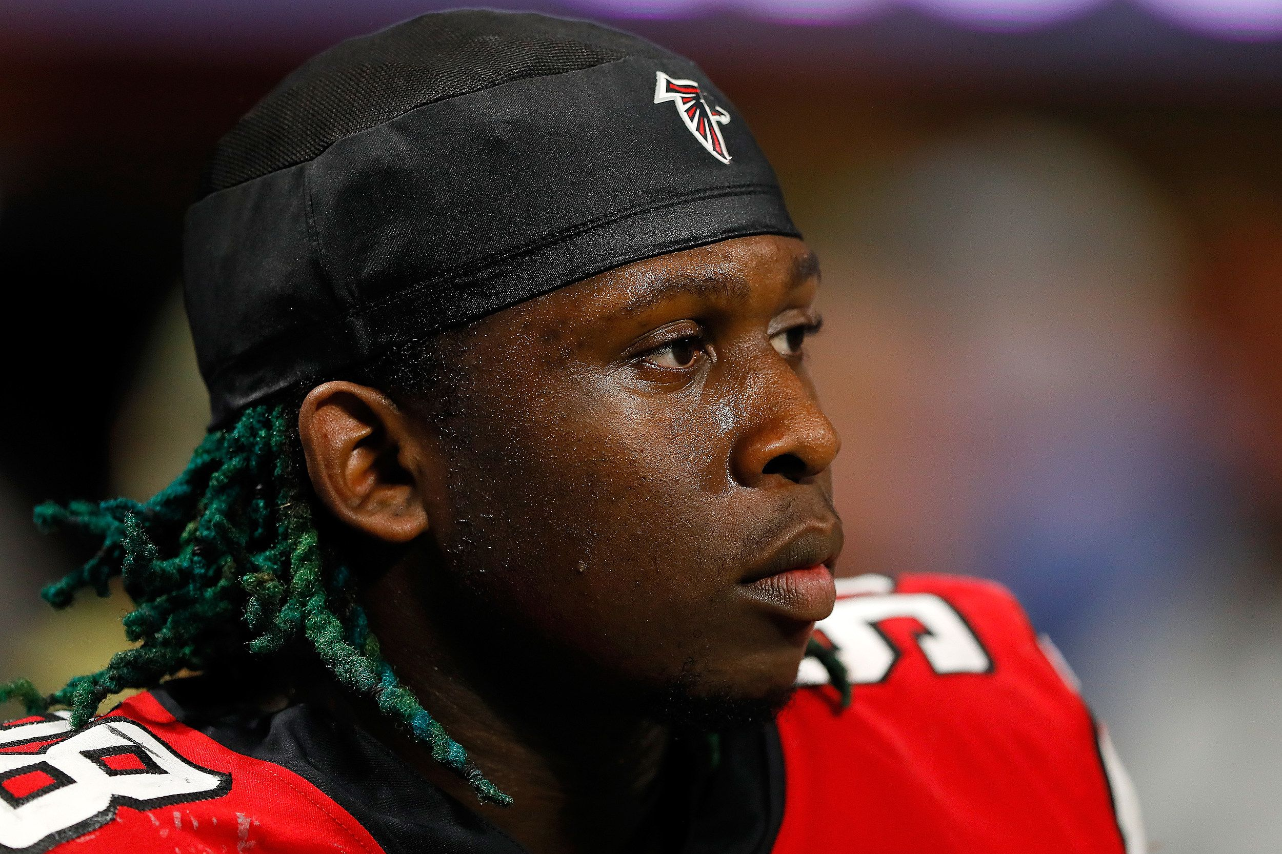 Falcons Player Mocks Saints After Loss To Vikings Falcons Players Falcons Players
