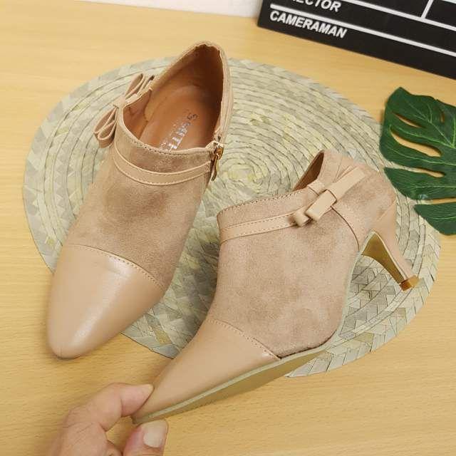 Sepatu Smith 158 High Heels Warna Apricot (2)  b1ffd7ffd7