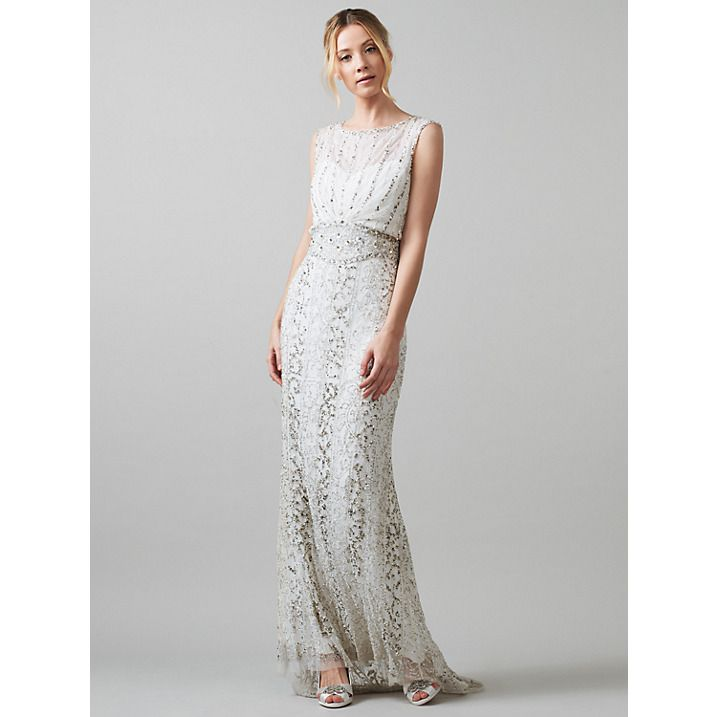 Phase Eight Bridal Hope Wedding Dress, Ivory | Phase eight