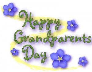 Happy Grandparents Day Sunday Sept 7th