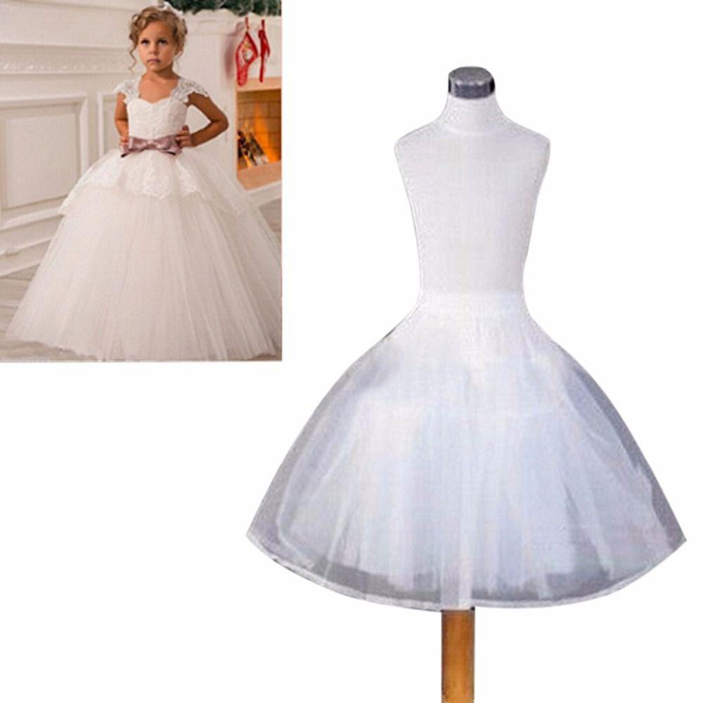 ANTI Fast Shipping Wedding Accessories Kids Girls Petticoat Vestido ...