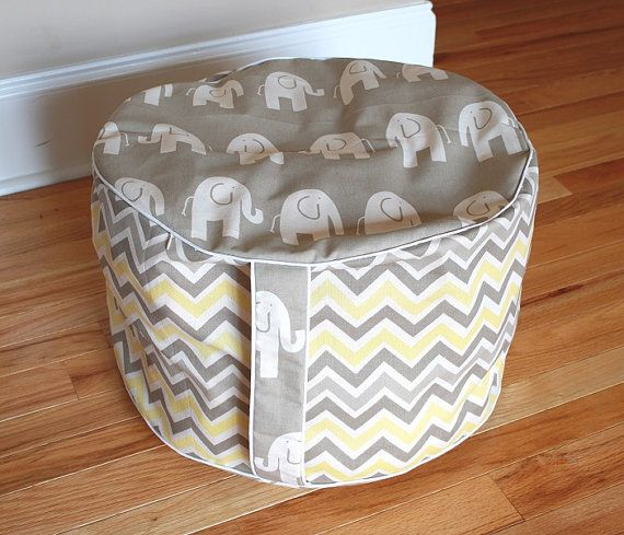 custom kids pouf pouf cover ottoman nursery pouf child. Black Bedroom Furniture Sets. Home Design Ideas