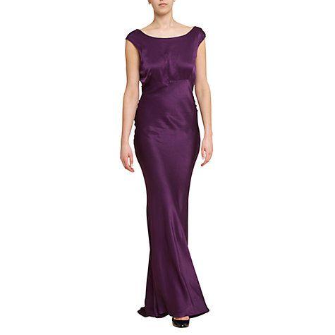 Ghost Novella Cowl Back Long Dress http://www.weddingheart.co.uk ...
