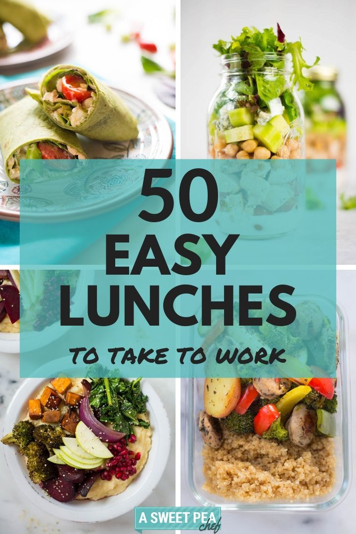 50 Easy Lunches To Take To Work (So You Love Lunch!) images
