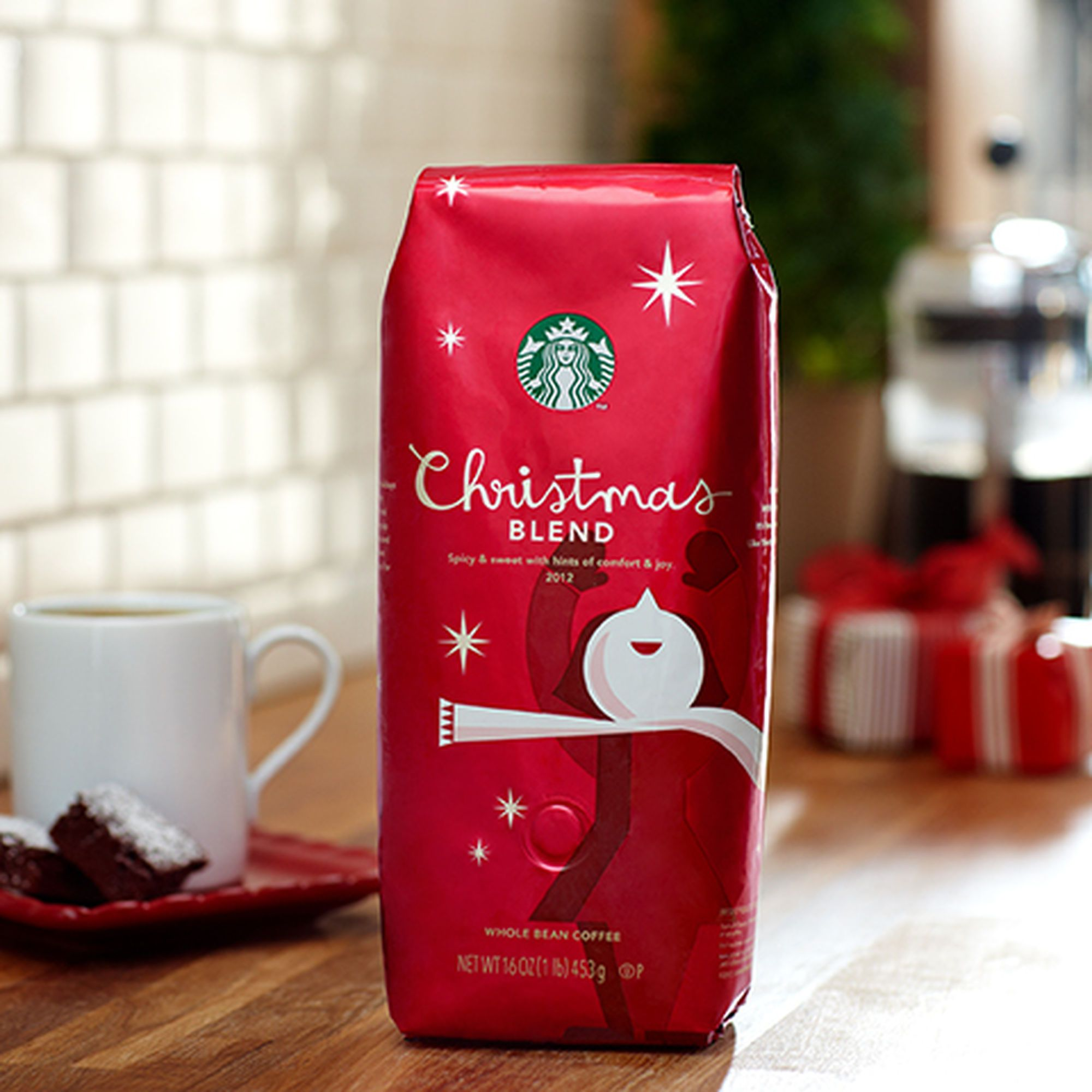 Starbucks® Christmas Blend is the best. I stock up every