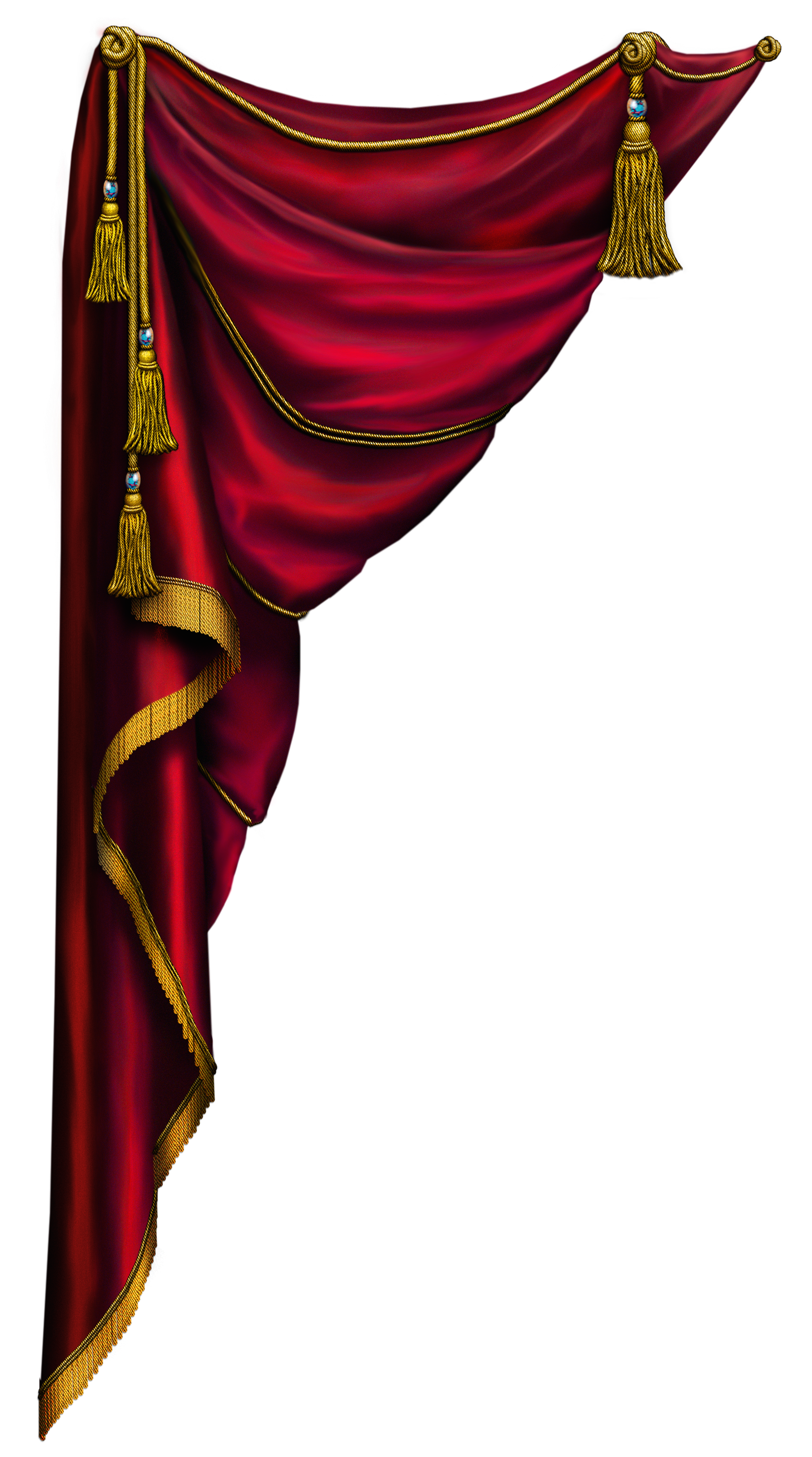 Red Curtain Left  Miscellaneous Images  Pinterest  Red