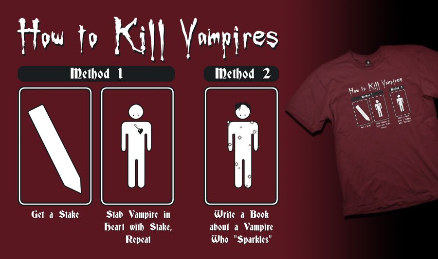 how to write a vampire book