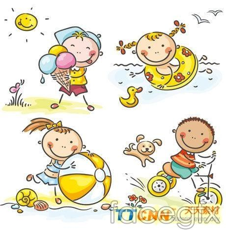 Summer holidays clip art free vector download (223,987 Free vector) for  commercial use. format: ai, eps, cdr, svg vector illustration graphic art  design