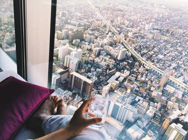 Debemos admitir que desde aquí arriba nada más importa. 良い一日を過ごしてください (¡Que tengan un muy buen día!) #Japon http://bit.ly/1LOKmCp