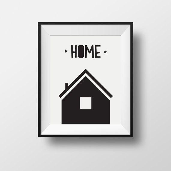 home print print home kids room print kids room d cor black home print kids poster kids. Black Bedroom Furniture Sets. Home Design Ideas