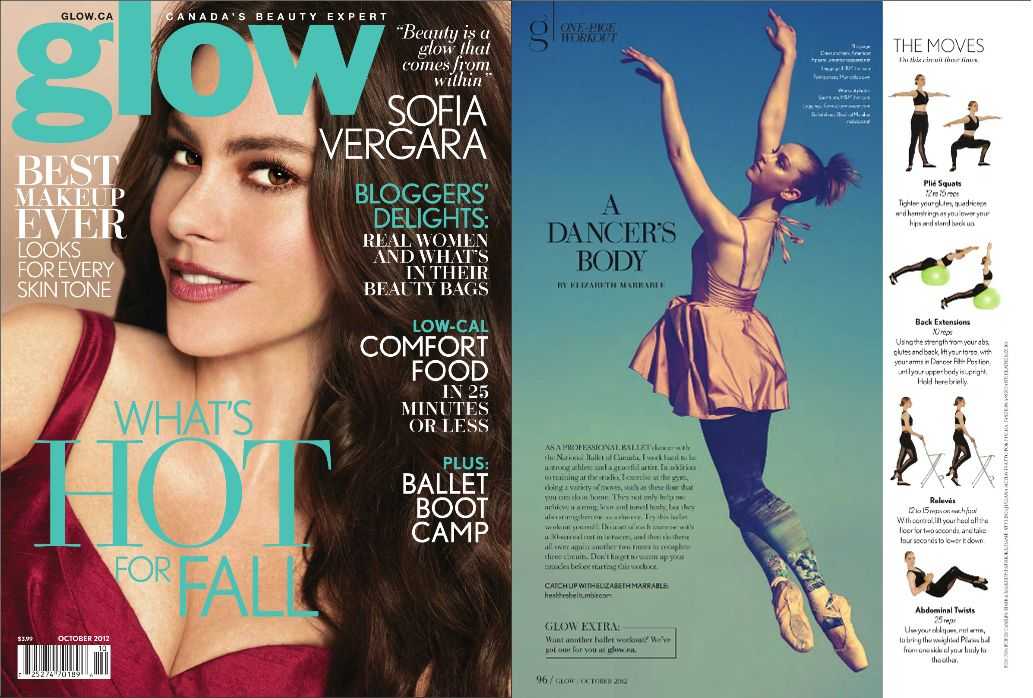 Glow Magazine October 2012 Featuring the Dorothy Tight
