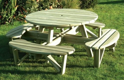 Large Round Picnic Table Summer Pinterest Round Picnic Table - Large round picnic table