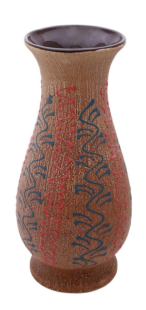 Bulk Wholesale 116 Earthen Pot Shaped Vintage Ceramic Vase Hand