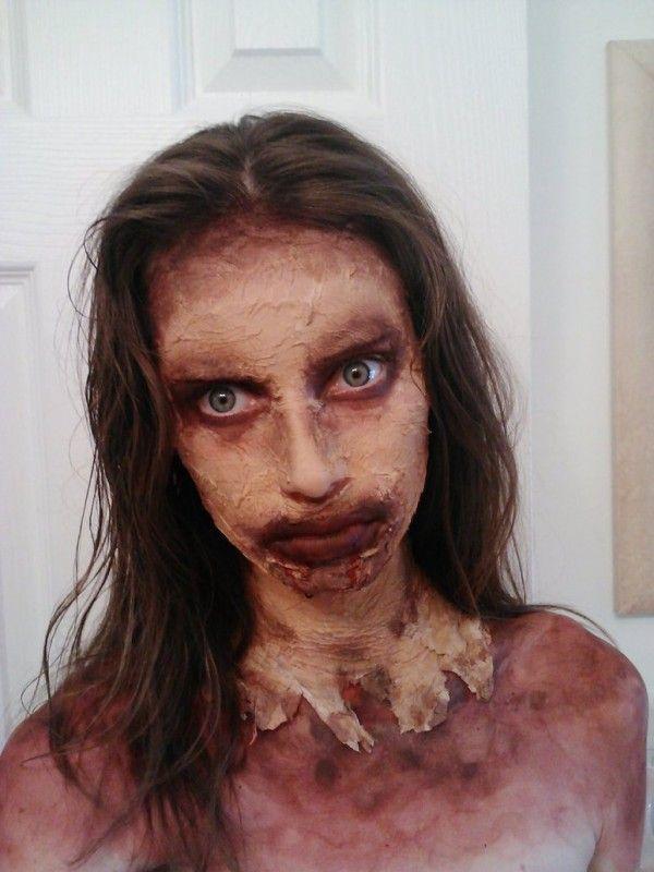 Walking Dead Zombie Makeup for halloween #2014 #Halloween ...