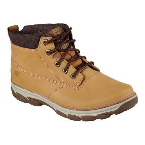 46d35237df0c01 Men s Skechers Relaxed Fit Resment Alento Boot Wheat
