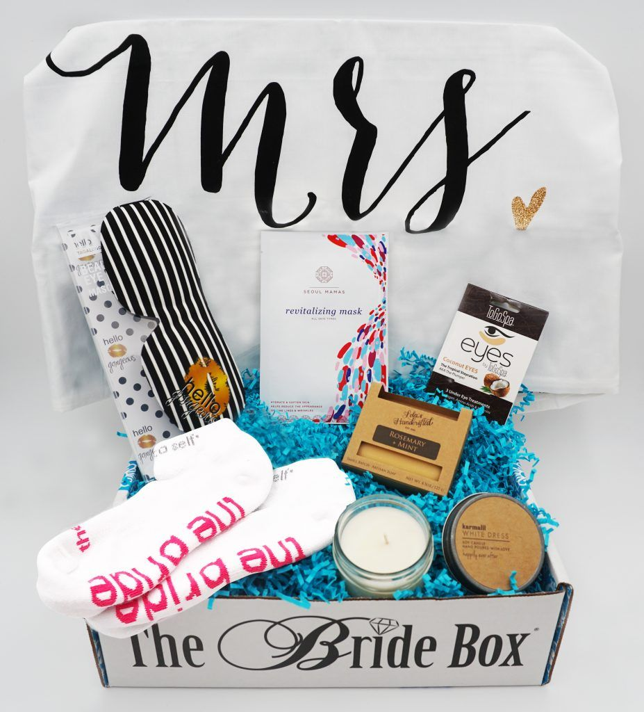 Pamper Me Box Gift Box For The Bride To Be Bridal Shower