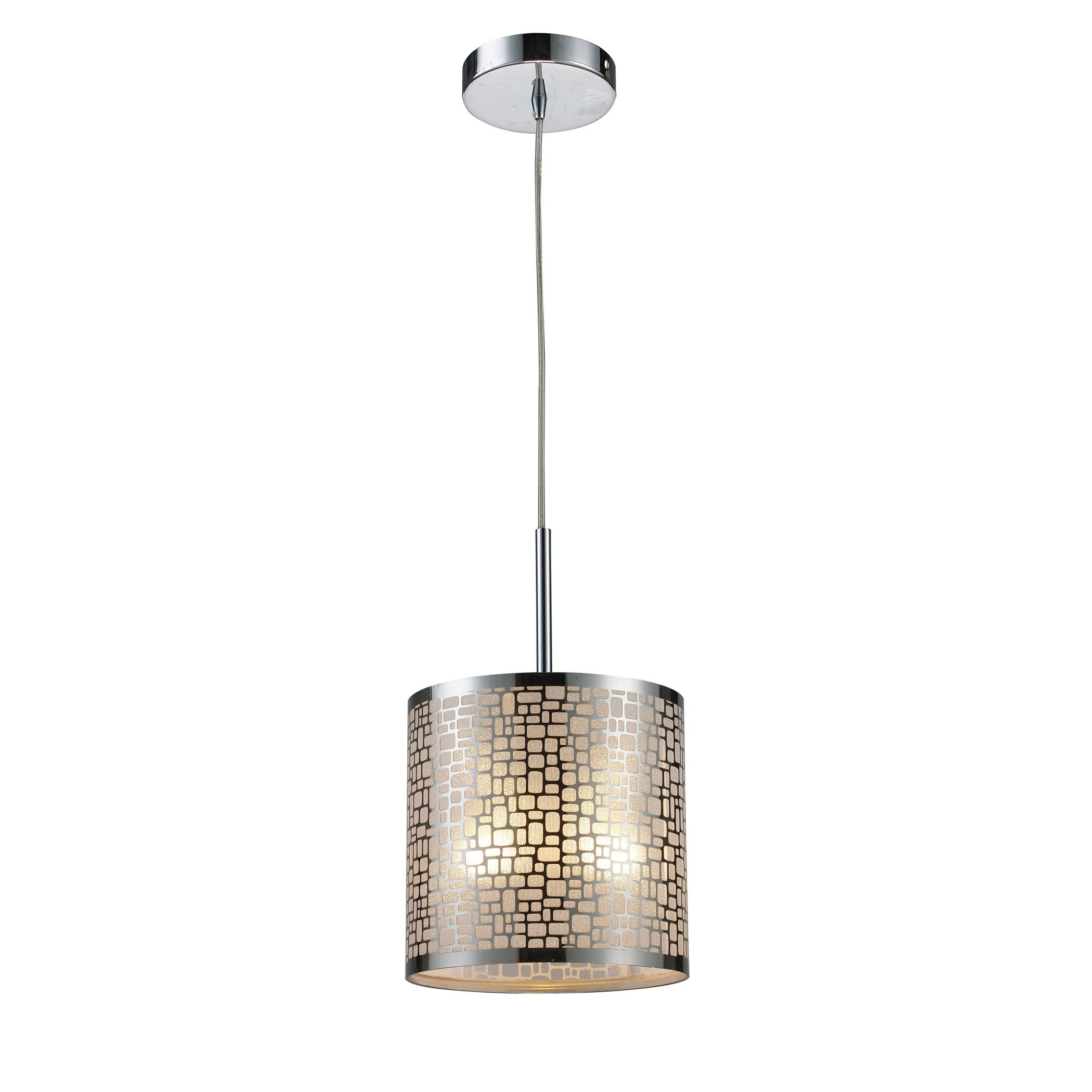 Elk lighting medina 1 light polished stainless steel pendant elk lighting medina 1 light polished stainless steel pendant polished stainless steel led arubaitofo Image collections