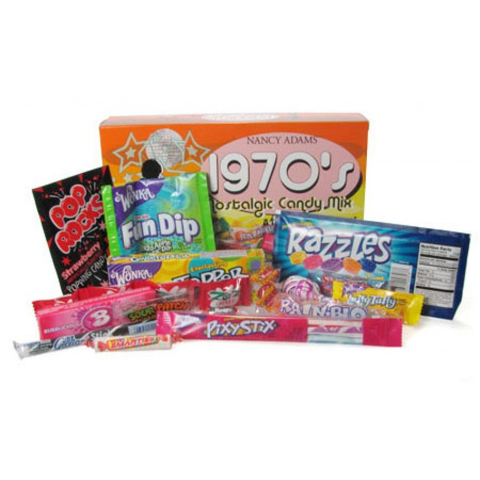 1970's Nostalgic Candy Mix [41-220-00048 1970's Retro Candy] : Wholesale  Wedding Supplies, Discount Wedding Favors, Party Favors, and Bulk Event  Supplies