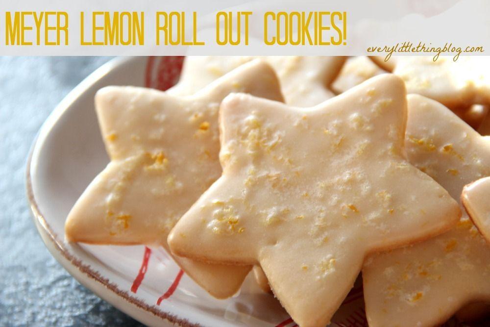 baked christmas cookies food these meyer lemon cookies