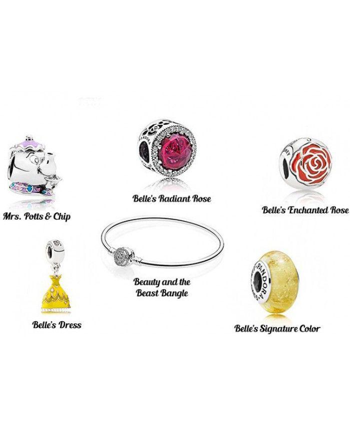 Pandora Disney Beauty And The Beast Bracelet France | Pandora ...