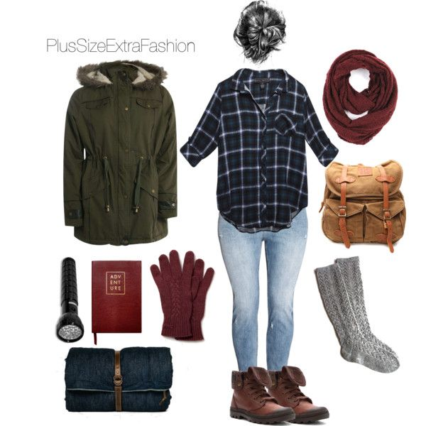 Fall Camping Outfit Plus Size