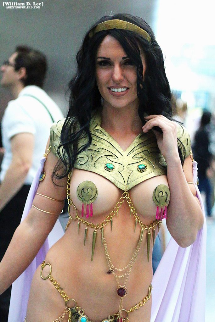 Excited Princess of mars dejah thoris cosplay apologise