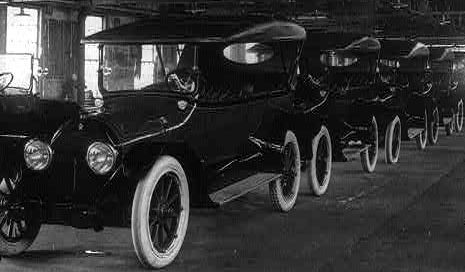 1920s - Technology. Roaring Twenties' Model T Fords (Tin Lizzies ...