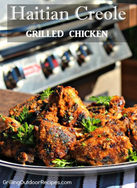 Haitian Creole Grilled Chicken is the featured recipe at Grill For Good - a fundraising event to help build food prep areas at Zanmi Agrikol University in Corporan, Haiti.