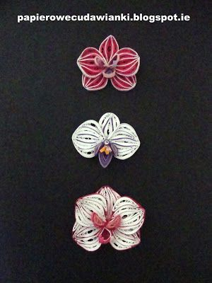 To Co Robie I Co Lubie Quilling Jak Zrobic Storczyka Orchid Tutorial Paper Quilling Patterns Quilling Patterns Quilling Work