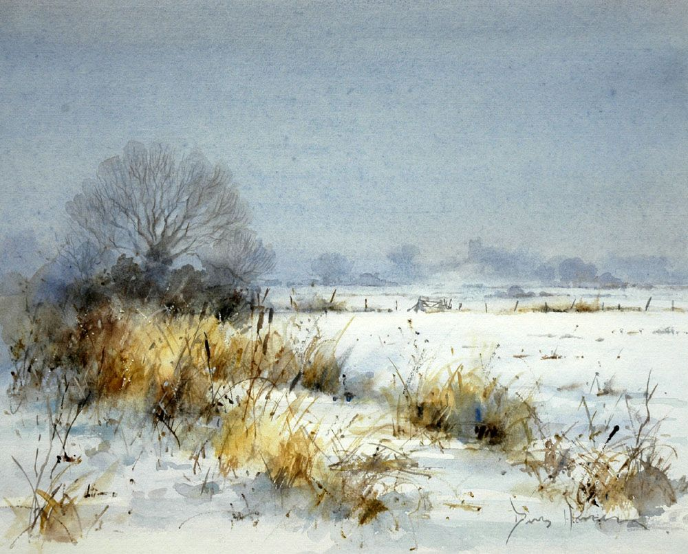 Watercolor Painting Landscape 26 HD Wallpaper Wallpaper ...