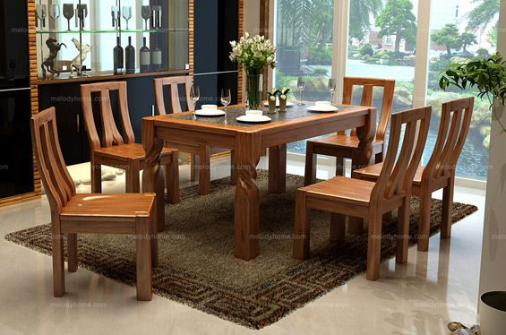 Oriental Style Classic And Fashionable Dining Set Melodyhome Com Solid Wood Dining Chairs Dining Room Furniture Dining Room Small