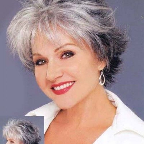 Short grey hairstyles for women over 50 | Fashion–Beauty In My 60s ...