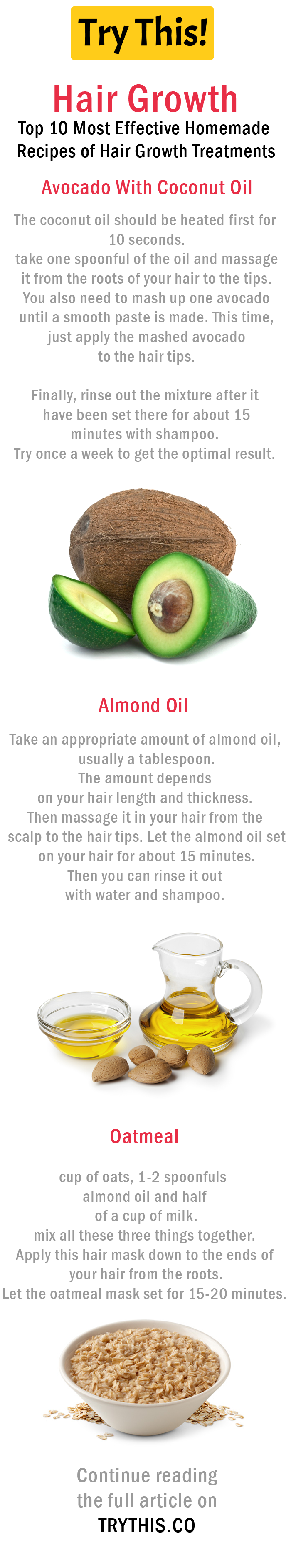 hair growth: help your hair regrowth with these homemade