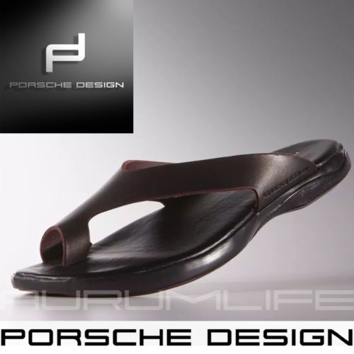 Adidas Porsche Design Sandals Leather Men 039 s Slides Flip