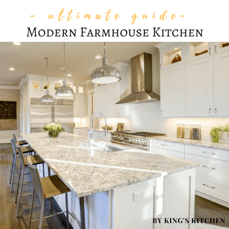 The Ultimate Guide to a Modern Farmhouse Kitchen | Kitchen ... on Kitchen Farmhouse Granite Countertops  id=24672