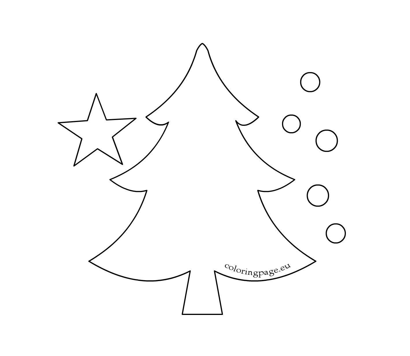 free printable coloring pages for any occasion christmas printable activities christmas tree coloring page