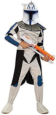 Amazon Com Rubies Star Wars Clone Wars Child S Captain Rex Costume Medium Toys Game Star Wars Stormtrooper Costume Halloween Costumes For Kids Rex Costume